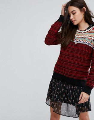 Vanessa Bruno Athe Helka Knit Sweater