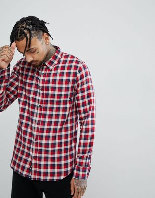 Vans Alameda II Shirt In Red