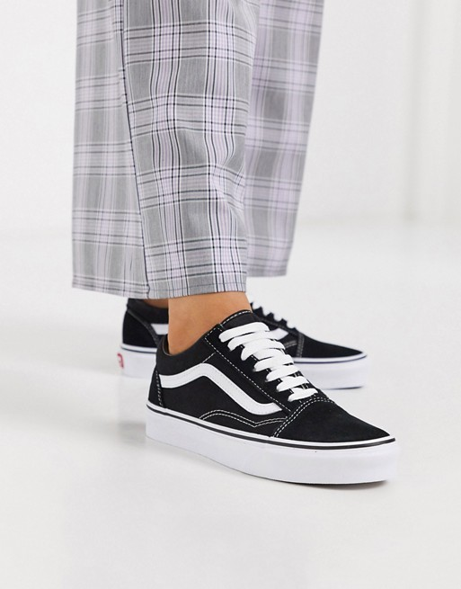 Vans Classic – Old Skool – Czarne buty sportowe
