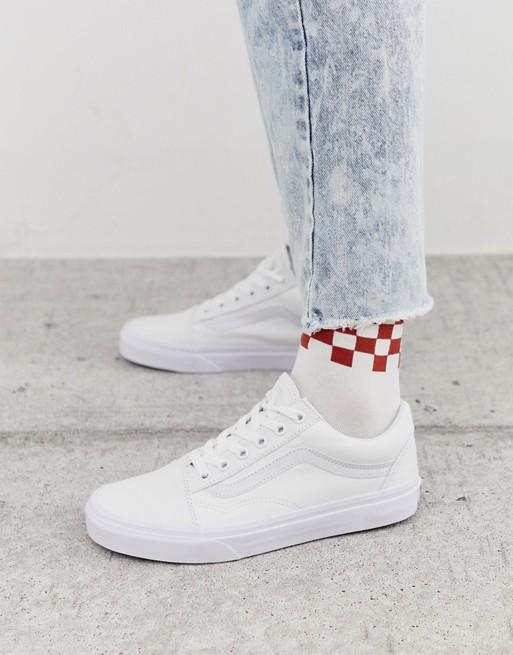Afbeelding 1 van Vans classic - Old Skool triple - Witte sneakers