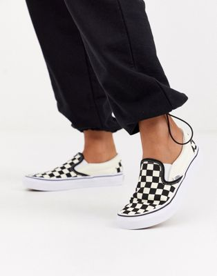 Vans Classic - Sneakers senza lacci a scacchi