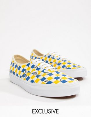 Vans Factory Pack Authentic sneakers in yellow Exclusive at ASOS