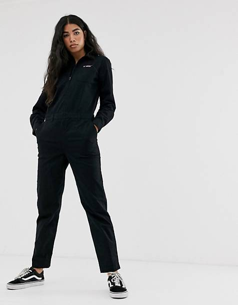 Vans Lady Vans black boiler suit