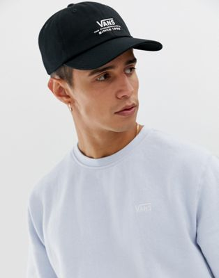 Image 1 of Vans Logo cap in black