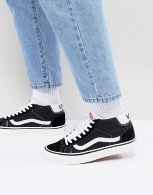 Vans Mid Skool 37 DX Sneakers In Black VA3MUOQF6