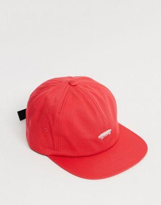 Vans X The Simpsons El Barto snapback cap in red - ASOS Price Checker