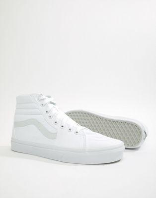 Vans Sk8-Hi Sneakers In White