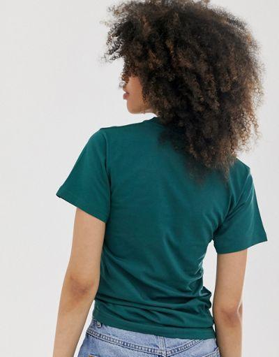 Vans Small Logo green t-shirt