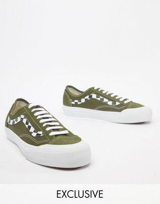 Vans - Style 36 - Baskets - Vert kaki - Exclusivité ASOS