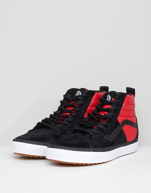 bfbed6297 Vans X The North Face Sk8-Hi 46 MTE DX Trainers In Red VA3DQ5QWS