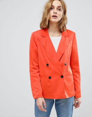 Vero Moda 80'S Blazer With Shoulder Pads