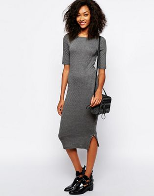 Image 1 of Vero Moda Ankle Midi Dress