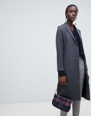 Vero Moda aware check longline coat
