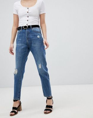 Vero Moda Aware Distressed Denim Jeans