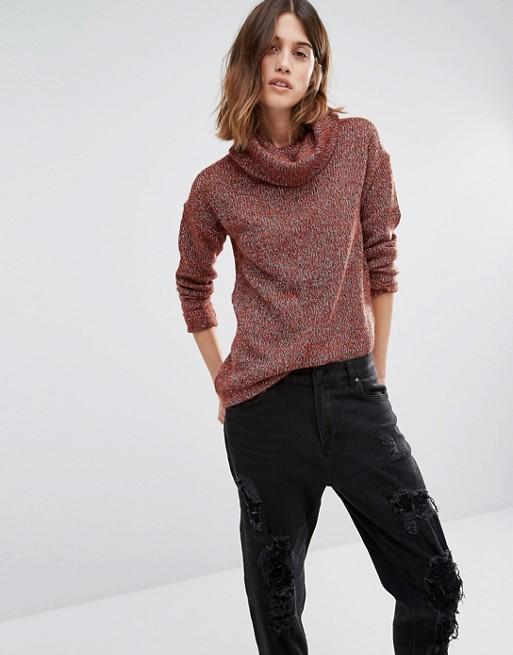 Vero Moda Cowl Neck Sweater
