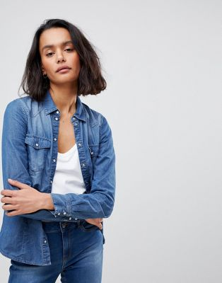 Vero Moda Denim Shirt