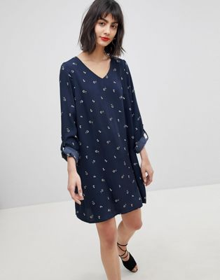 Vero Moda Ditsy Print Shift Dress