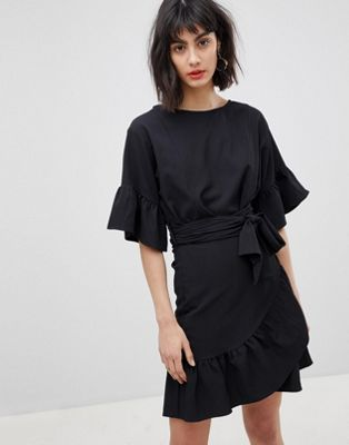 Vero Moda Faux Wrap Dress