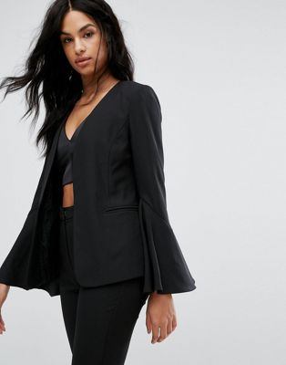 Vero Moda Flare Sleeve Tailored Blazer