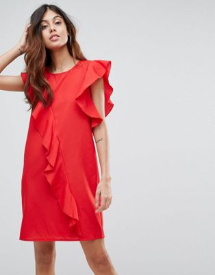 Vero Moda Frill Asymetric Dress