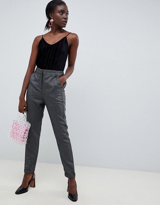 Vero Moda Glitter Tailored PANTS