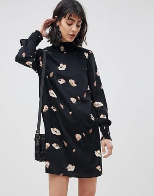 Vero Moda High Neck Floral Dress