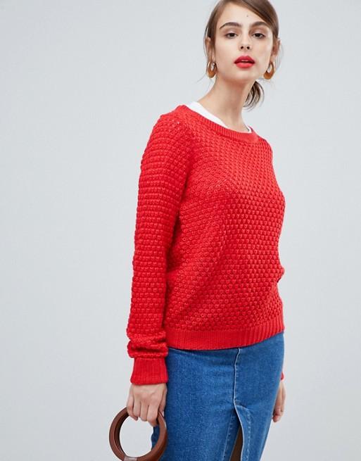 Immagine 1 di Vero Moda - Maglione lavorato a maglie grosse