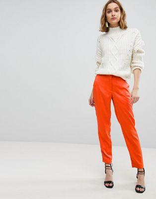 Vero Moda - Pantaloni anni '80 a sigaretta
