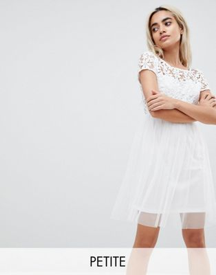 Vero Moda Petite Lace Prom Dress