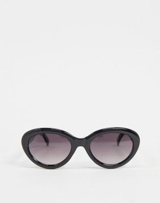 Vero Moda - Sorte ovale solbriller