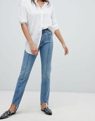 Image 1 of Vero Moda Stirrip Straight Leg Jeans