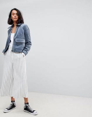 Vero Moda Striped Wide Leg Trouser