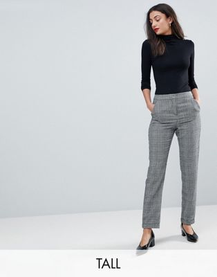 Vero Moda Tall Check Trouser