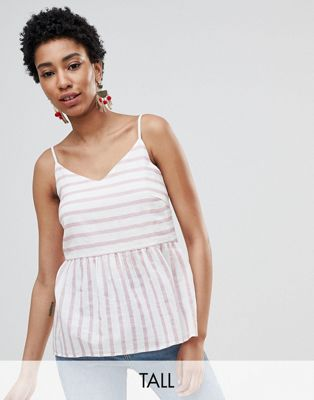 Vero Moda Tall Stripe Cami Top