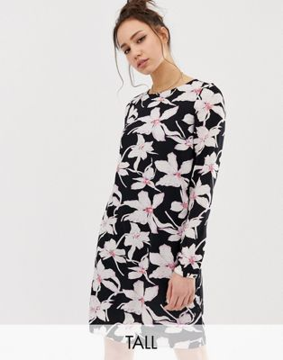Vero Moda Tall Vintage Floral Shift Dress