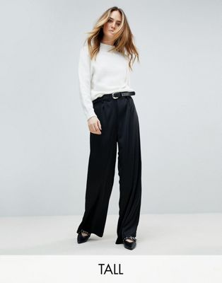 Vero Moda Tall Wide Leg Luxe Trouser