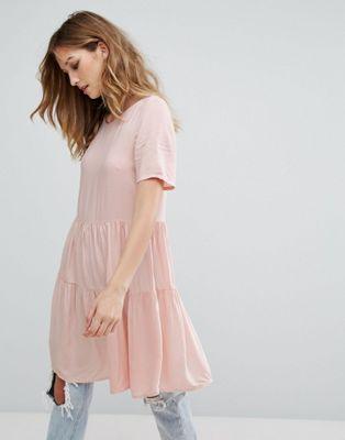 Vero Moda Tiered Smock Dress