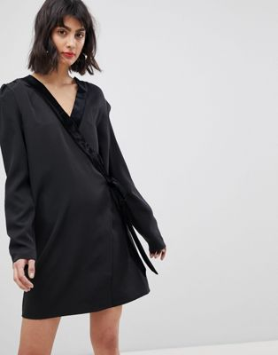 Vero Moda Tux Wrap Dress