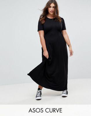 Vestido de tarde largo Ultimate de ASOS DESIGN Curve