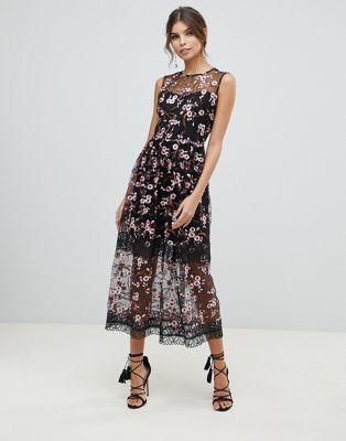 Vestido midi Sakura de Bronx and Banco