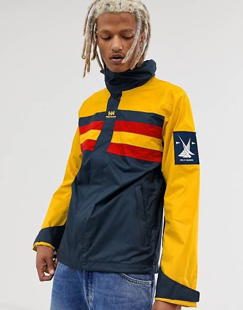 1f47ef91271 Ветровка с желтой и темно-синей отделкой Helly Hansen Urban Retro
