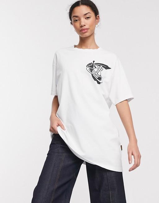 Vivienne Westwood - Anglomania - T-shirt med firkantet logo