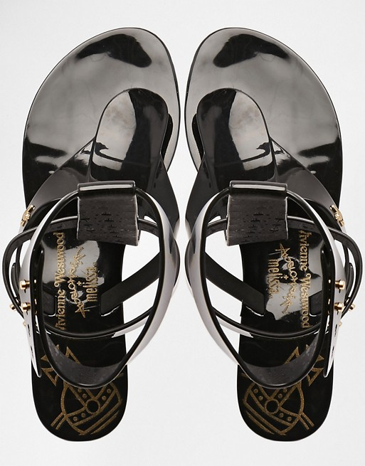 the best best prices arrives Vivienne Westwood For Melissa Harmonic Gladiator Sandals