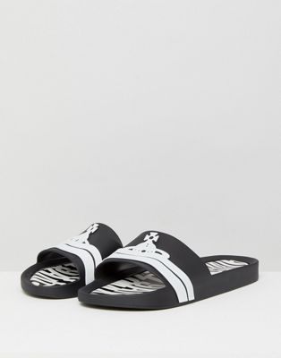 Vivienne Westwood For Melissa Sliders In Black