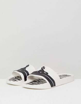 Vivienne Westwood For Melissa Sliders In White