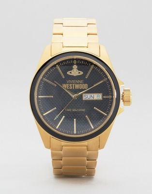 Vivienne Westwood Gold Metal Watch