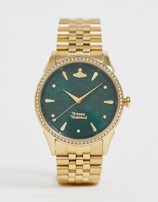 Image 1 of Vivienne Westwood VV208GDGD Wallace bracelet watch