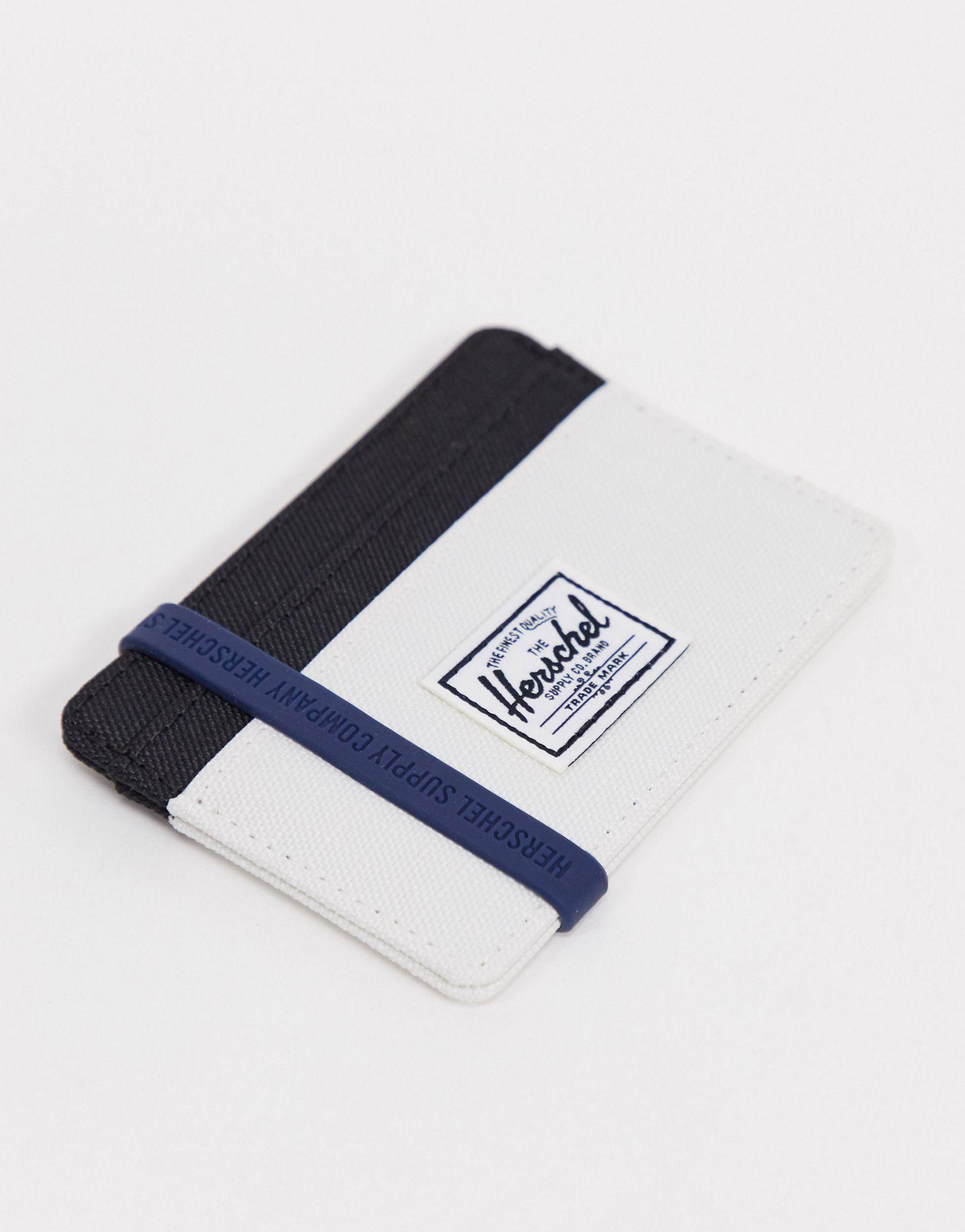 Herschel Supply Co Charlie card holder in block colour - ASOS Price Checker