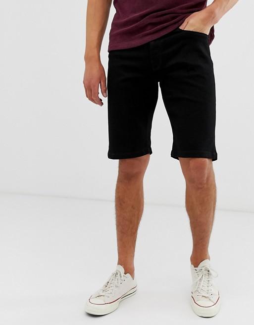 Voi Jeans – Schwarze Jeansshorts