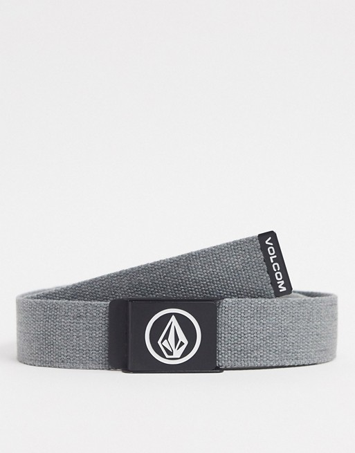 Volcom - Circle Web Cintura Antracite